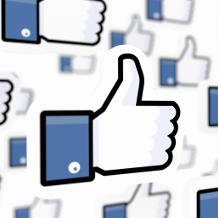 Facebook like, Daumen hoch, Social Media