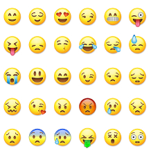 Emoticons, Smileys, Social Media, Facebook, Twitter